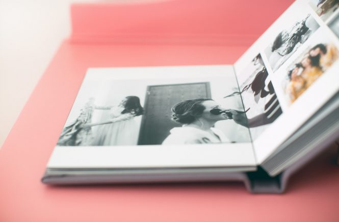 A Custom Photo Book
